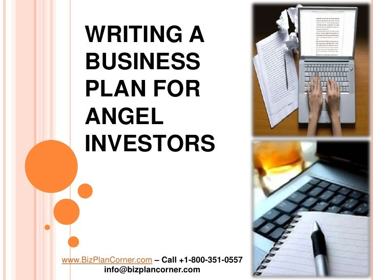 Submit business plan to angel investors