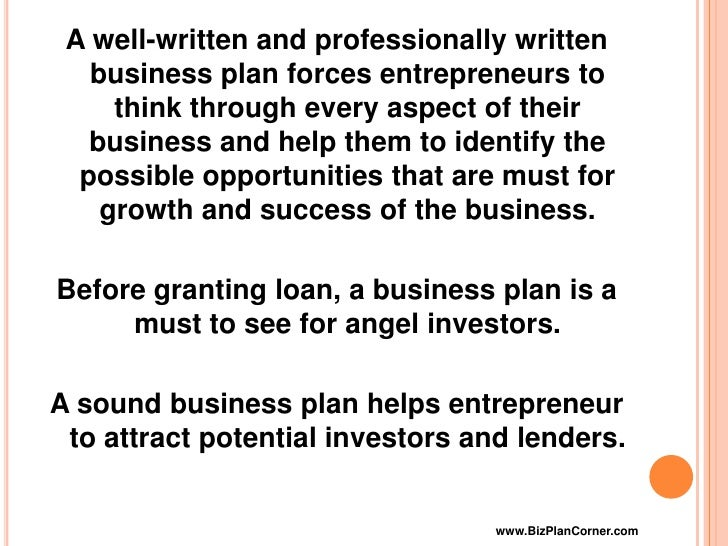 Hire someone to write my business plan