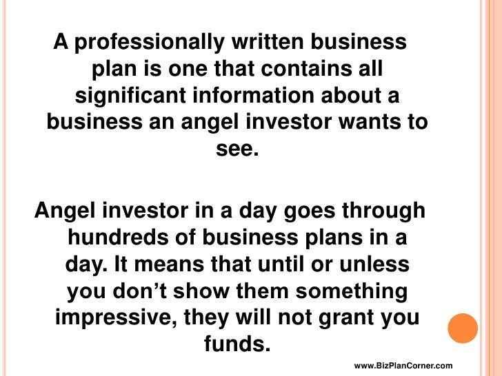 write a business plan What has to be in a business plan here is a business plan outline with links to articles on how to write each section of the plan.