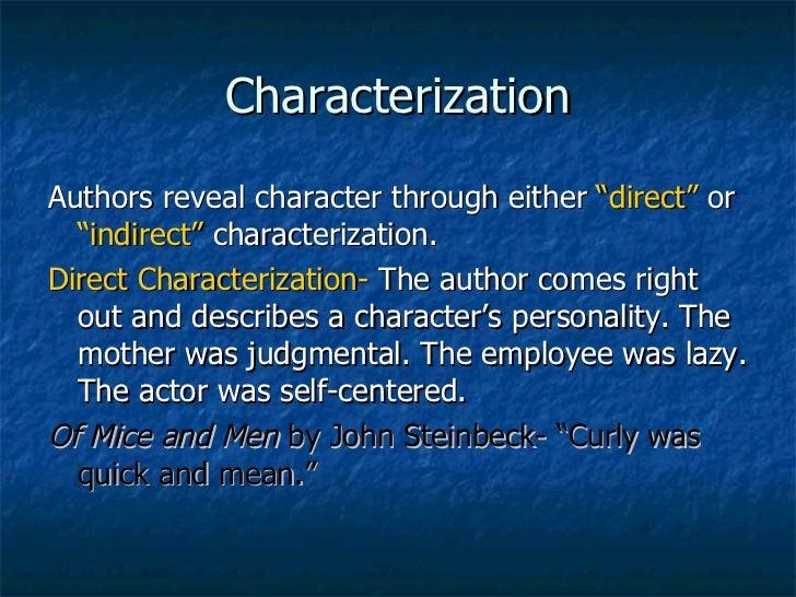Character analysis essays
