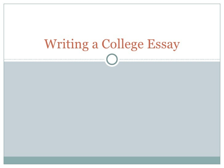 School essay writing