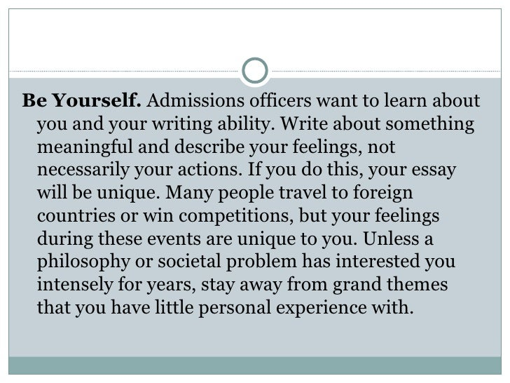 Writing an essay about yourself - Stonewall Services