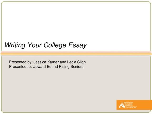 Sample College Application Essays