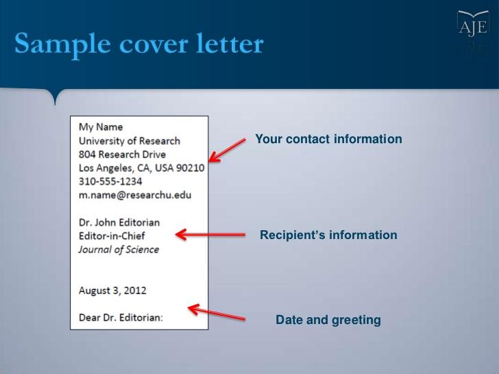 cover letter cover letter format scientific journal     Decorationoption Com Resume Samples Cover Letter