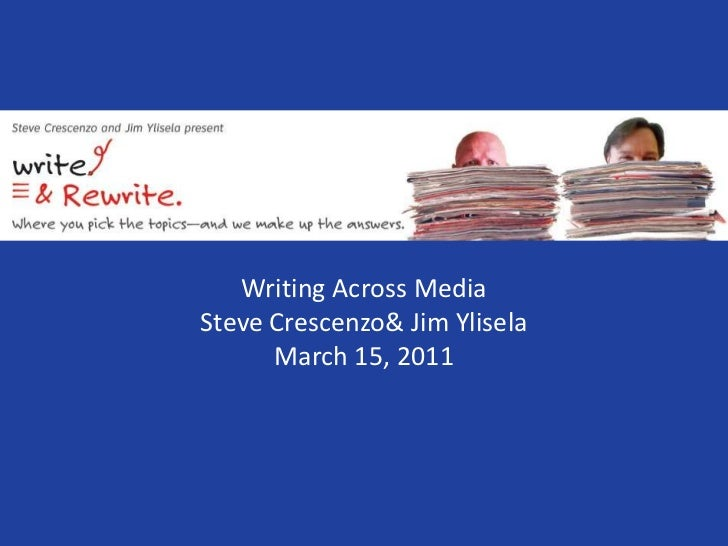 Writing across media