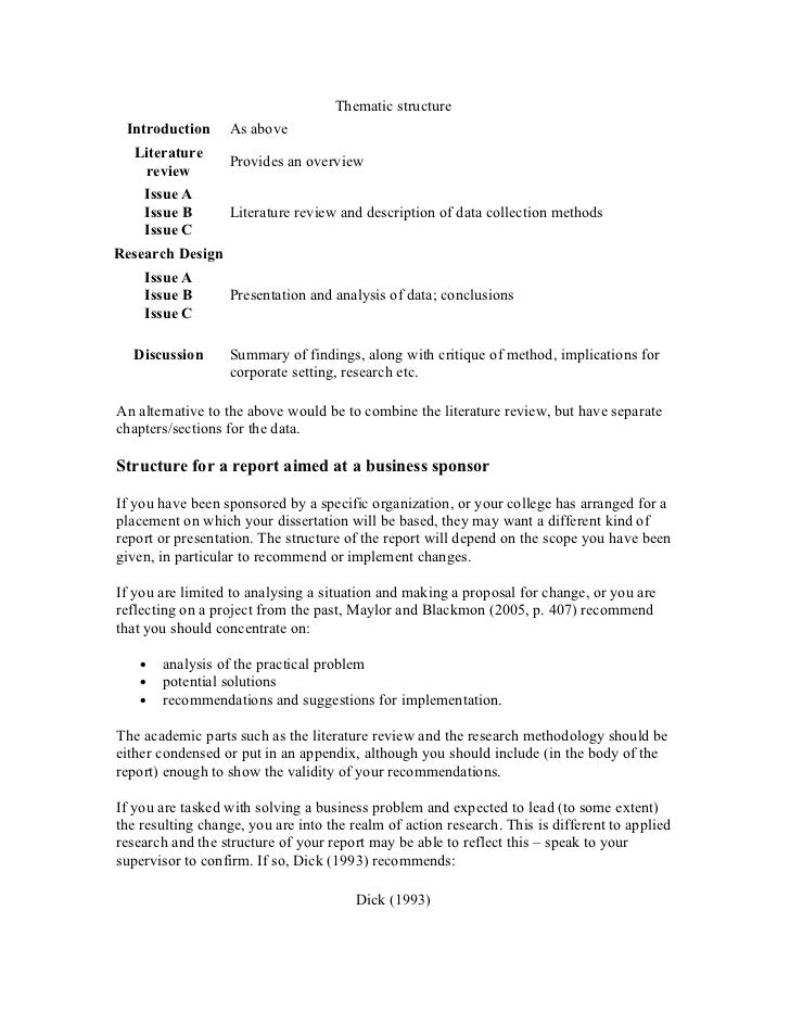 Dissertation review service literature