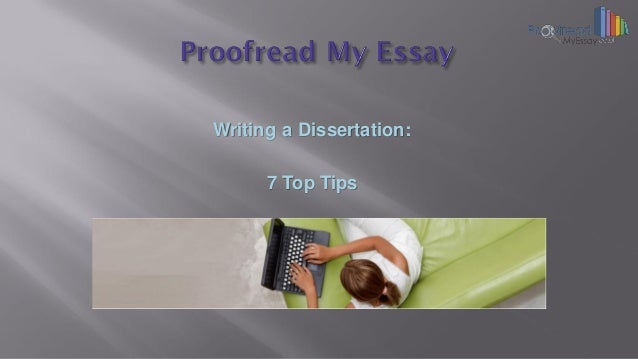 cost of proofreading dissertation The costs for having a dissertation professionally proofread can vary depending upon the agency that you select in general as a rule of thumb, most services will charge a rate based per 1,000 words for dissertation proofreading.