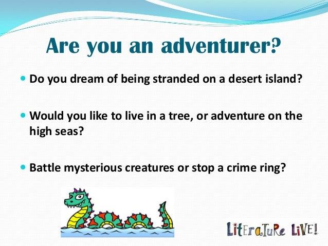 Ideas for an adventure essay!!!?
