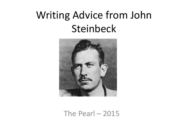 I need help writing an essay about John Steinbeck..?