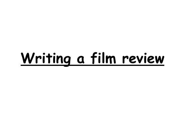write film reviews