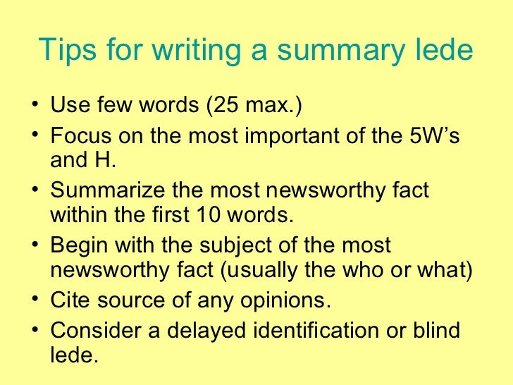 how to write a brief summary Why should i write a summary writing a brief narrative description of your book can do a number of things for you first.