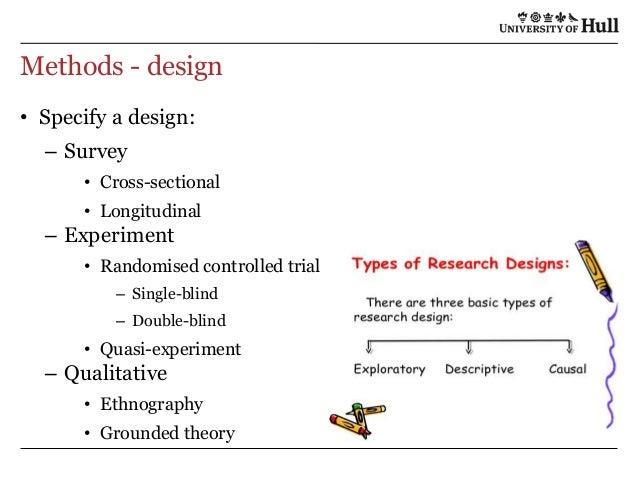 A good research proposal