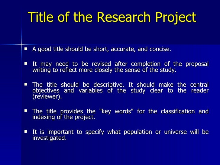 research proposal parts Typical parts of a research proposal are outlined below note that examples are pulled from databases of awards from either federal agencies (ie, nsf and nih) or .