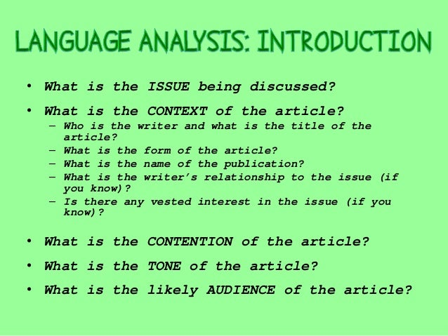 English language essay examples