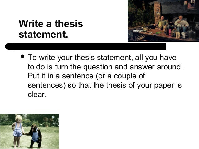 Assume you're writing a literary analysis essay that began with this thesis...?