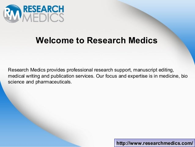 Medicine research writing