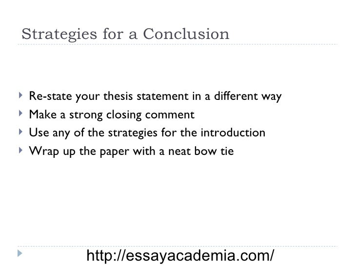 essay closing strategies The conclusion, for example, is this free printable worksheet is perfect for students to practice writing conclusions grade essay introductions writing.