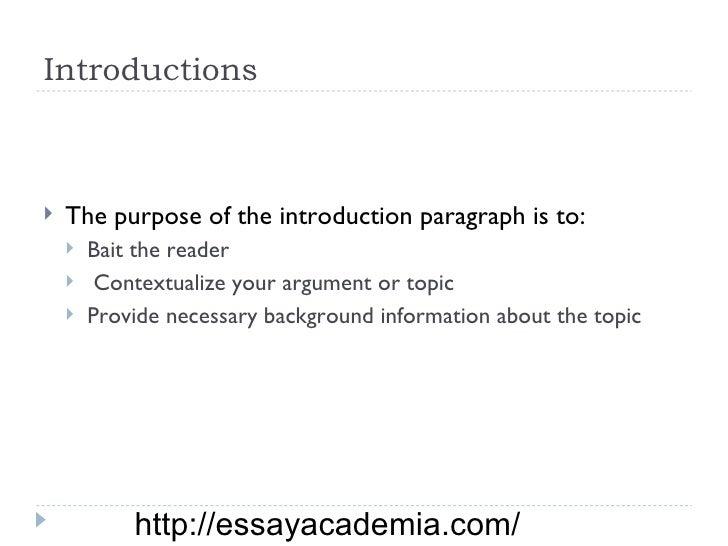 esl writing essay introduction