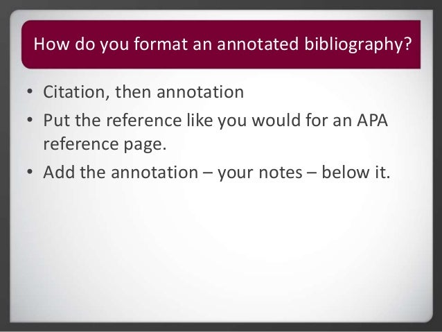 Writing an annotation