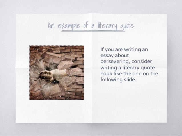 Does a quote need an introduction when writing an essay?