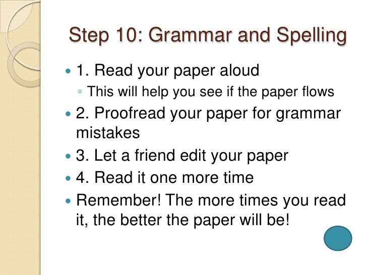 easy steps in writing a research paper Chapter 10 writing the research paper 161 interest your reader the immediate context in which you are writing the paper provides one set of clues.