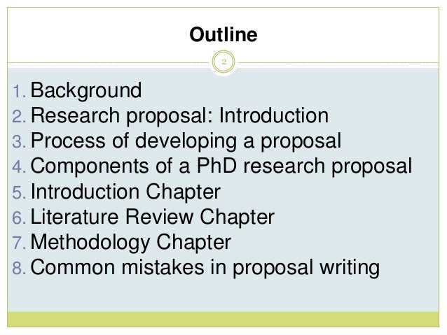 Writing a Good PhD Research Proposal - FindAPhD com