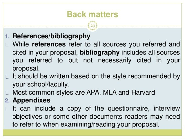Guidelines for writing research proposal for phd