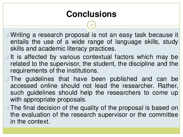 my research proposal A research proposal is intended to convince others that you have a worthwhile research project and that you have the competence and the work.