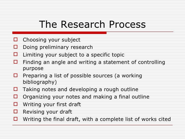 Research Report Conclusion