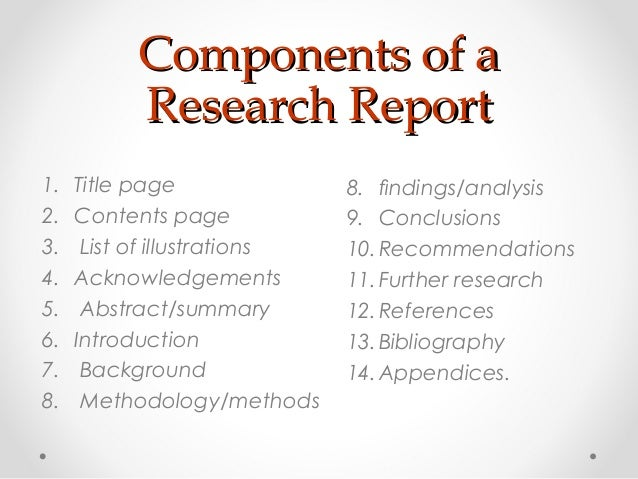 research thesis components Critical research component: the critical writing component of the thesis  your  original research during your candidature, with phd theses requiring a distinct.