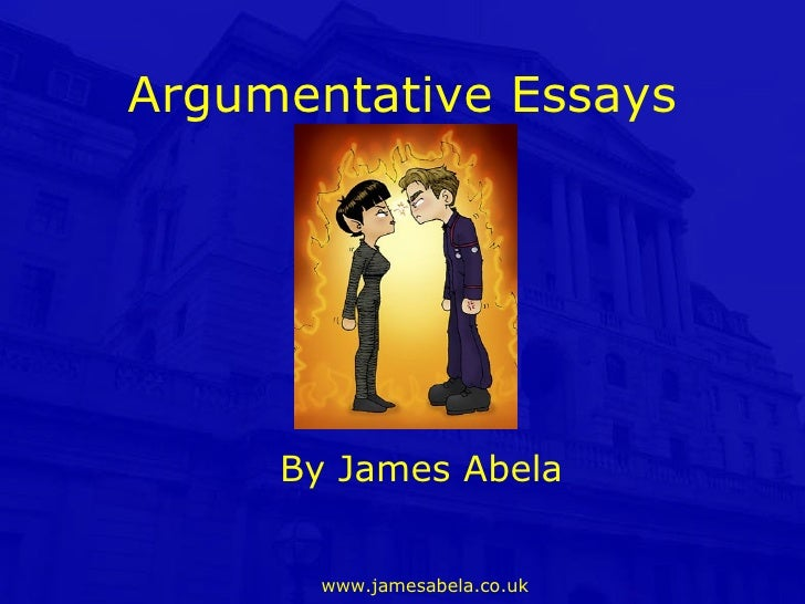 Writing arguments (pros and cons)