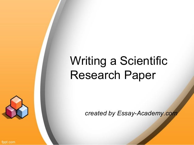 Essay scientific research