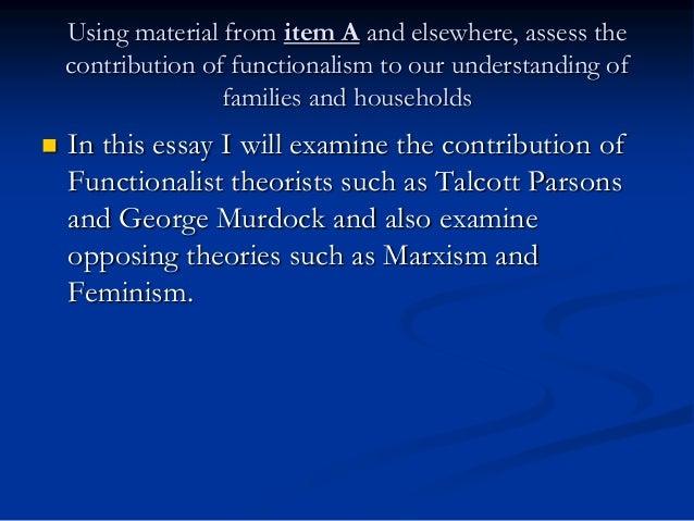 marxist understanding of family essay