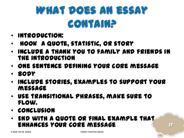 How to quote a speech in an essay