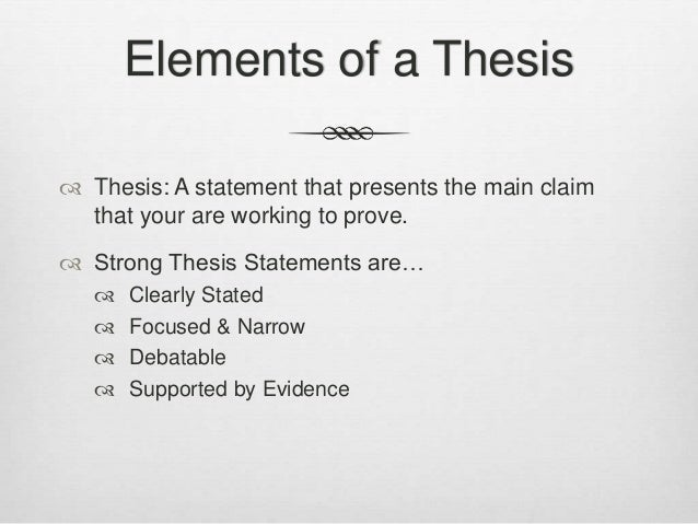 Need help with writing an effective thesis.?