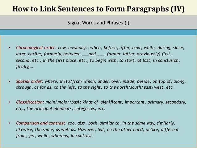 forming a thesis sentence They show the relationship of each paragraph to the essay's thesis topic sentences and signposting you should work to vary the form your topic sentences take.
