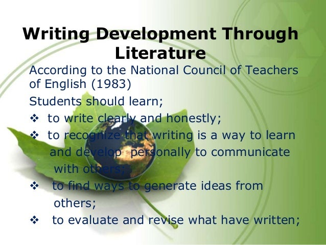 Development essay english literature