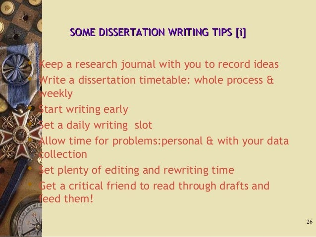 Dissertation Journal Articles