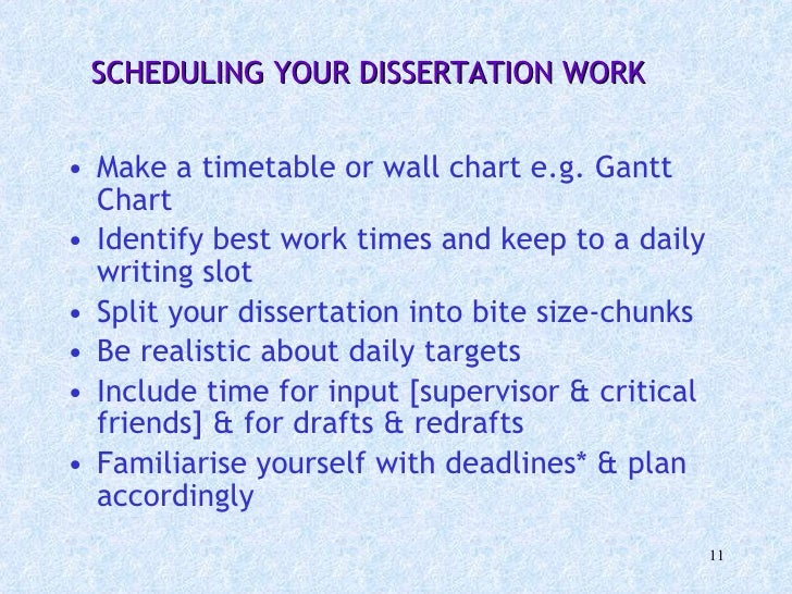 Can I write a dissertation at my level?