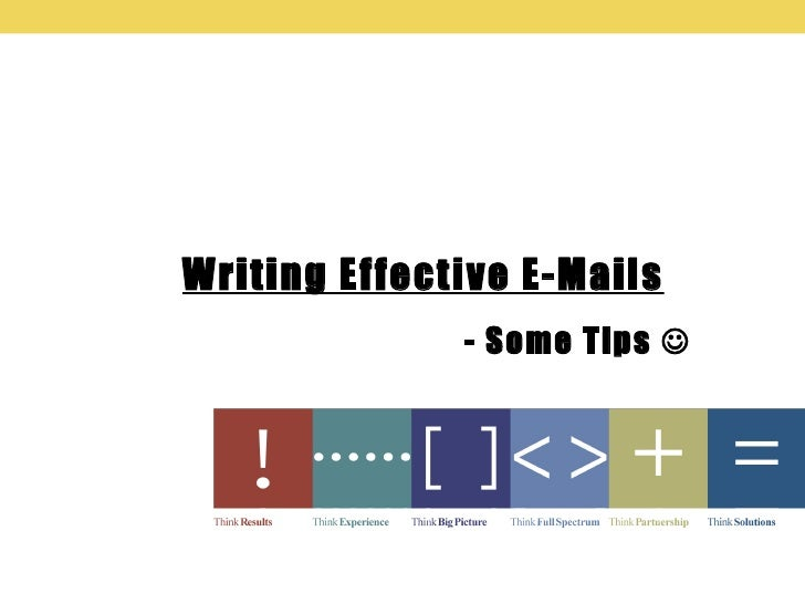 tips for writing effective emails 5 tips for writing productive email subject lines by thanh pham | 9 comments one of the quick wins for everyone who wants to spend less time managing emails is by writing effective subject lines.