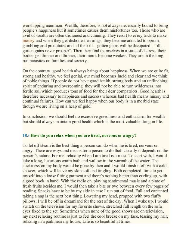 Essay on wealth essay about best friend