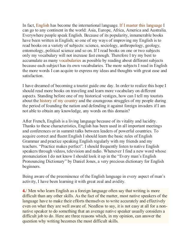 English essay topics for grade 6