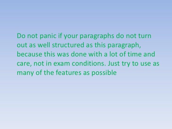 English essay writing techniques