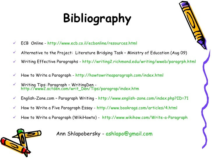 how to write bibliography in a project How to write bibliography in a projectessay help bestwriting service uktype my essay for me.