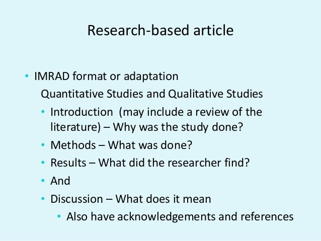 writing academic papers for publication