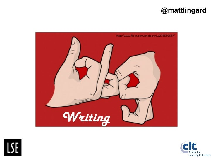 Writing http://www.flickr.com/photos/inju/278659657/ @mattlingard