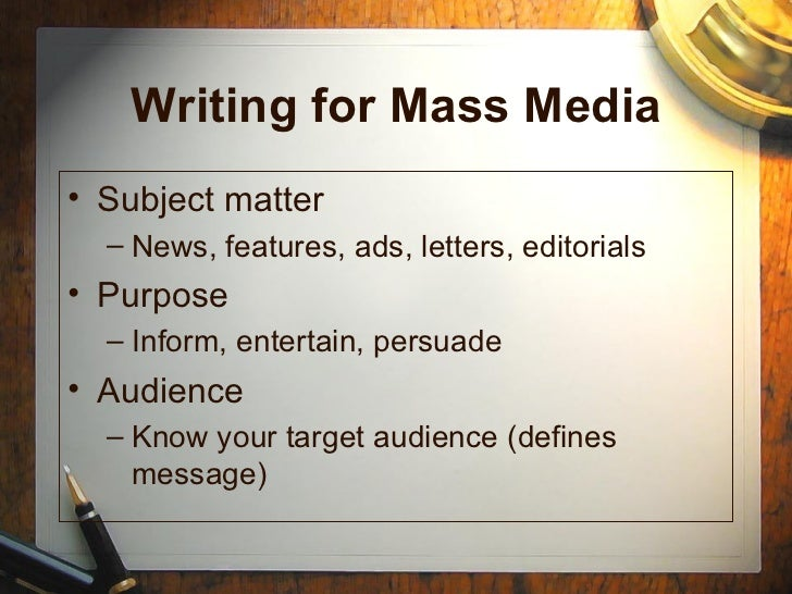 writing for the mass media 8th edition answer key