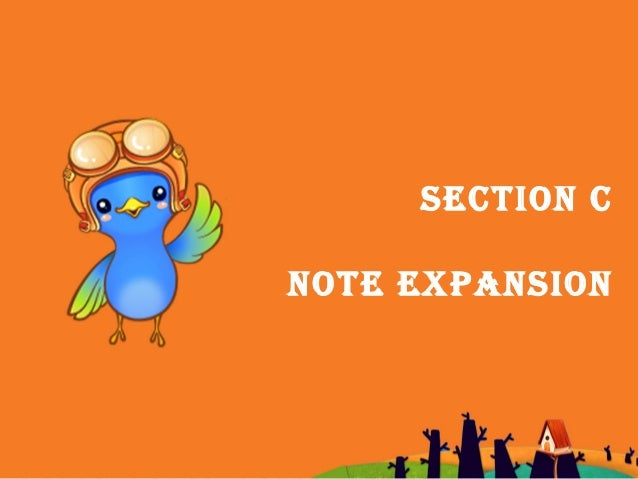 SECTION C NOTE EXPANSION
