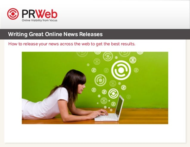 Writing Great Online News Releases