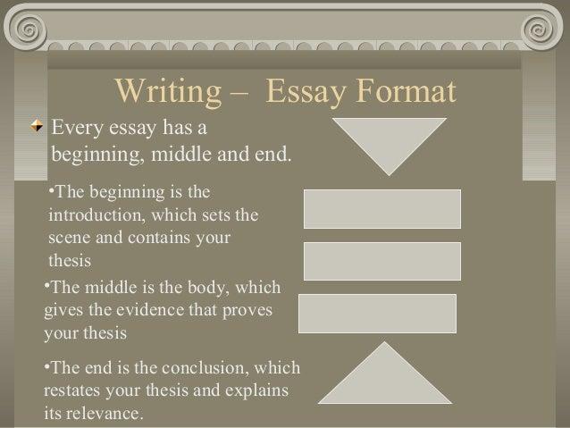 Writing history essays